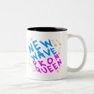 Corey Tiger 80s Vintage New Wave Prom Queen Coffee Mug