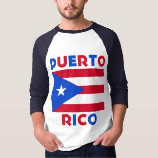 Corey Tiger 80s Vintage Puerto Rico Flag T-Shirt