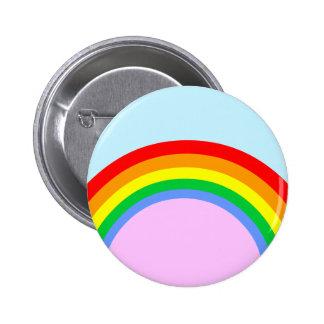 Corey Tiger 80s Vintage Rainbow 6 Cm Round Badge