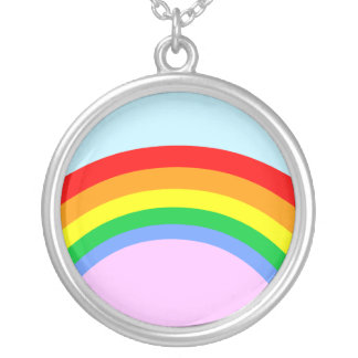 Corey Tiger 80s Vintage Rainbow Pendant