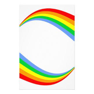 Corey Tiger 80s Vintage Rainbow Stationery