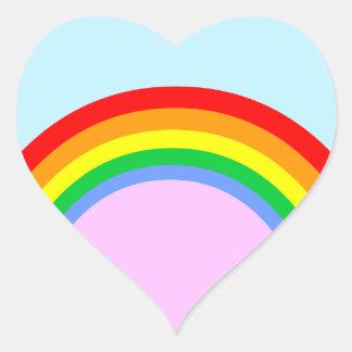 Corey Tiger 80s Vintage Style Rainbow Stickers