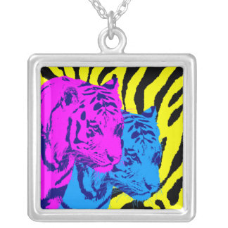 Corey Tiger 80s Vintage Twin Tigers Jewelry