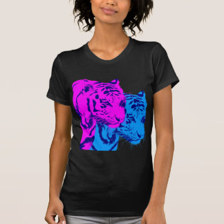 Corey Tiger 80s Vintage Twin Tigers Tee Shirt