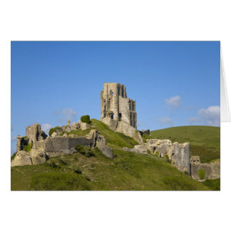 Corfe Castle, Corfe, Dorset, England Card