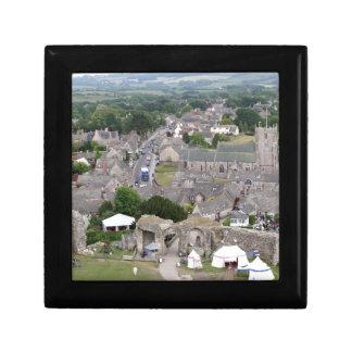 Corfe Castle, Dorset, England Gift Box