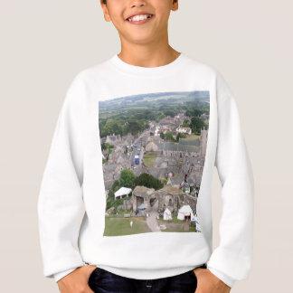 Corfe Castle, Dorset, England Sweatshirt