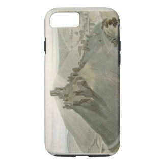 Corfe Castle, from 'A Voyage Around Great Britain iPhone 7 Case