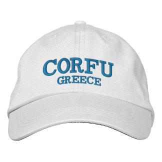 Corfu Greece Custom Hat