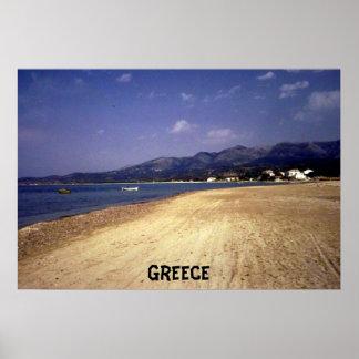Corfu, Greece poster
