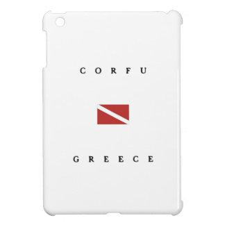 Corfu Greece Scuba Dive Flag Cover For The iPad Mini
