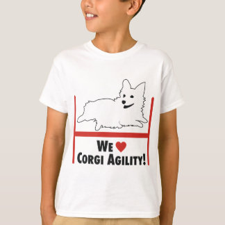 Corgi Agility T-Shirt
