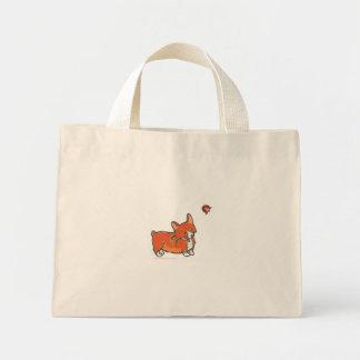 Corgi and Ladybug Bag by Doublefly Design