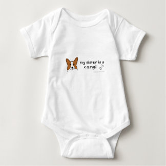 corgi baby bodysuit