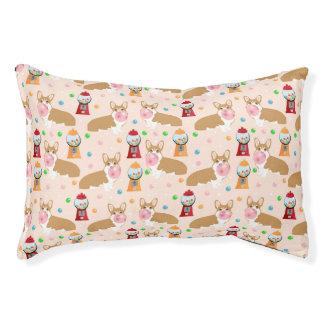 Corgi bubblegum candy - cute bubblegum dog design pet bed