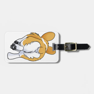 Corgi Butt Bag Tag