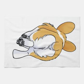 Corgi Butt Tea Towel