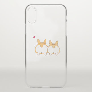 Corgi Butts iPhone X Case