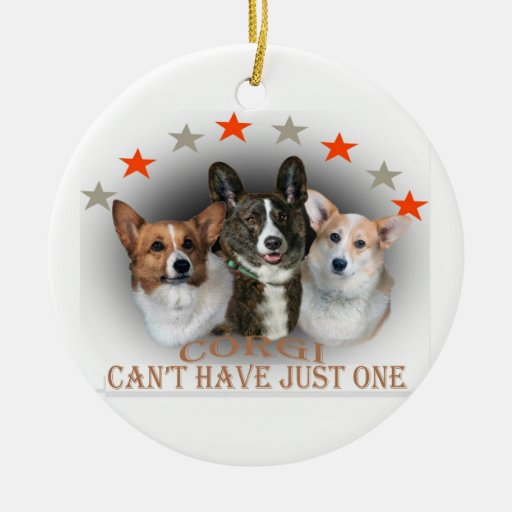 Corgi Can't Have Just One Ornament