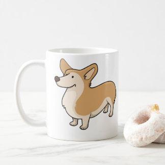 corgi cartoons coffee mug