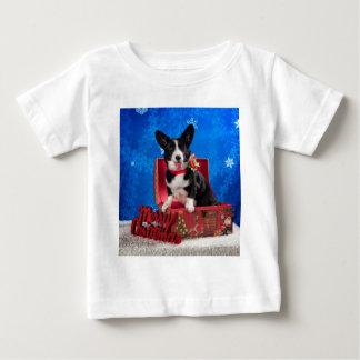 Corgi Christmas Baby T-Shirt
