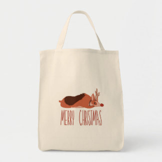 Corgi Christmas Tote Bag