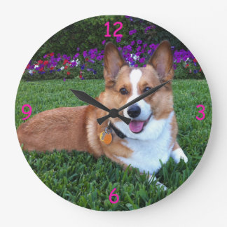 Corgi Clock