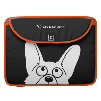 Corgi Creeper Sleeve For MacBooks