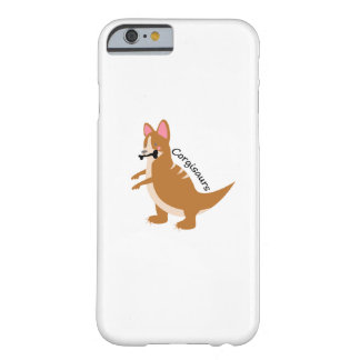 Corgi Dinosaurs T-Rex Corgisaurs Love Dog Funny Barely There iPhone 6 Case