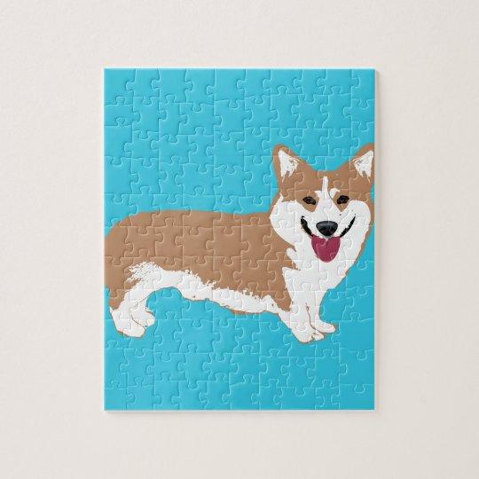 Corgi Dog Jigsaw Puzzle