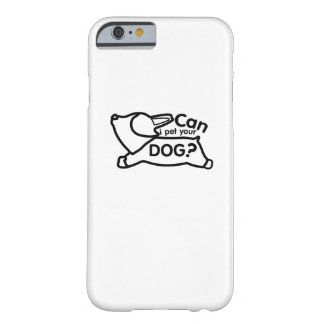 Corgi Dogs Love Pet Puppy Dog Funny Barely There iPhone 6 Case