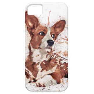 Corgi & Feather iPhone 5 Case