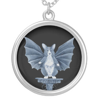 Corgi Gargoyle Necklace