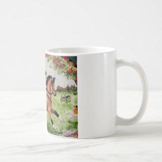 Corgi Huntsman Rides to Hounds Coffee Mug