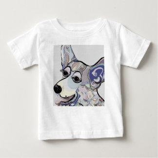 Corgi in Denim Colors Baby T-Shirt