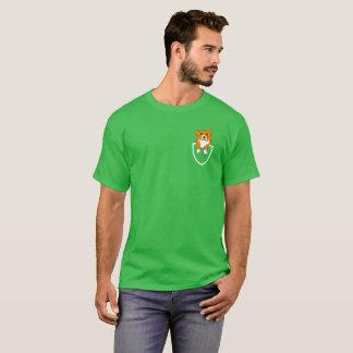 Corgi in Pocket T-Shirt for Corgi Owners & Lovers