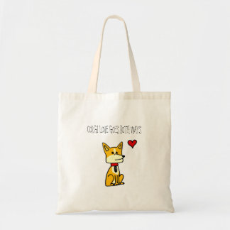Corgi Love Goes Both Ways Tote Bag