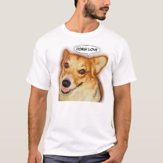 Corgi Love T-Shirt