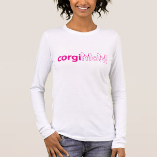 Corgi Mom Womens Longsleeve T-shirt