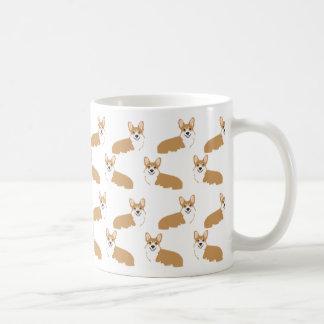 Corgi Mug - cute corgis design