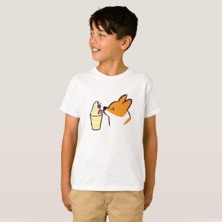 Corgi Pineapple Dole Whip Kids Shirt