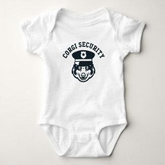 Corgi Security Baby Bodysuit