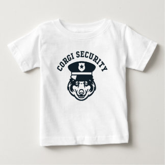 Corgi Security Baby T-Shirt