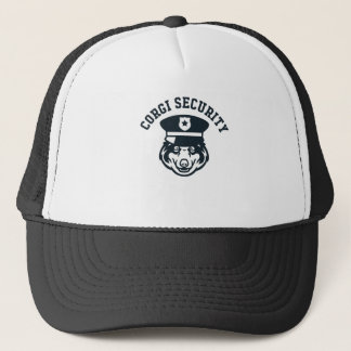Corgi Security Trucker Hat