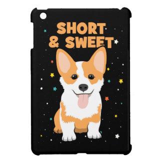 Corgi - Short and Sweet, Cute Dog Cartoon, Novelty Cover For The iPad Mini