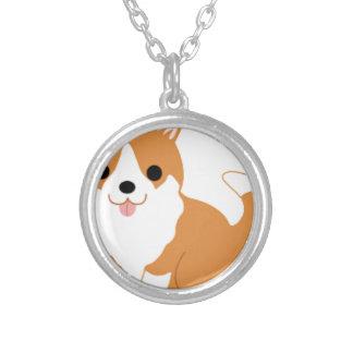 Corgi Silver Plated Necklace