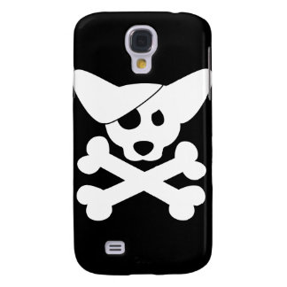 Corgi Skull and Crossbones iPhone 3 Case