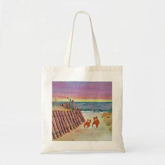 corgi sunset bag