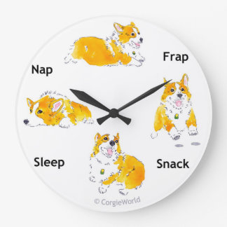 Corgi-Times Clock
