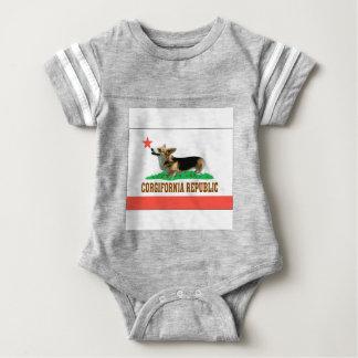 CORGIFORNIA BABY BODYSUIT